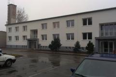 Areál technických služeb Uničov, administrativní budova - energetická opatření