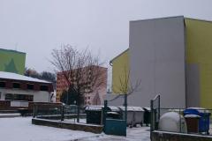 Bezbariérovost areálu domů s pečovatelskou službou Šternberk, bezbariérový přístup objektu Uničovská 53
