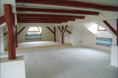 Půdní vestavba a stavební úpravy objektu SŠ Šumperk