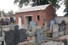 Rekonstrukce obvodového zdiva a márnice hřbitova v Němčicích nad Hanou II