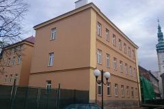 SOŠ Litovel, ul. Komenského - oprava fasád objektu školy (objekt A)