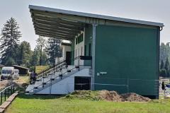 Stavební úpravy stávající tribuny – parc. č. 696, 2172/1, k.ú. Horní Libina